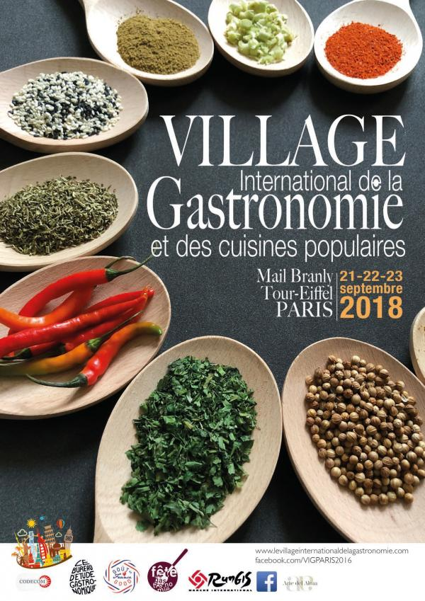 village international de la gastronomie 2018